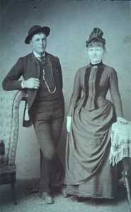 Patrick Killeen and Mary Jane Callahan, 1880